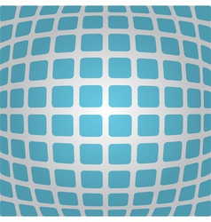 Bulging blue background with rounded rectangles vector