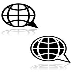 Global talk vector