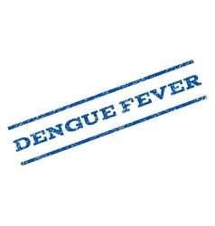 Dengue fever watermark stamp vector