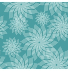 Simple seamless pattern with flowers vector