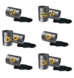 Barrels set 2 vector