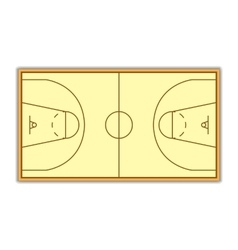 A field for Basketball vector image vector image