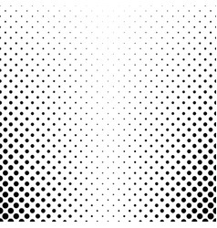 Abstract black and white dot pattern - vector
