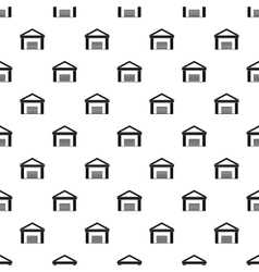Big garage pattern simple style vector