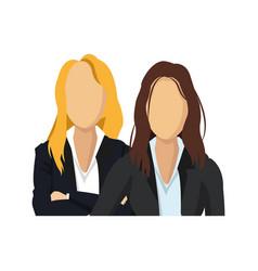 Business women icon vector