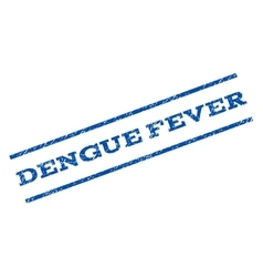 Dengue Fever Watermark Stamp vector image