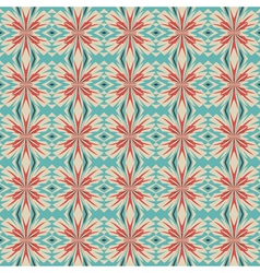 floral geometric ornament vector image vector image