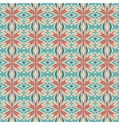 floral geometric ornament vector image