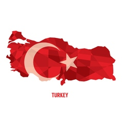 Map of republic of turkey vector