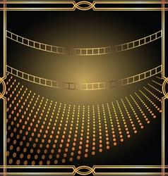 Metallic Frame vector image vector image