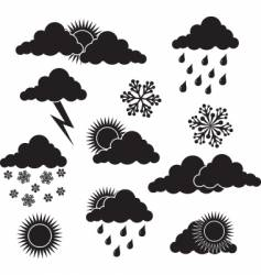 Weather image vector