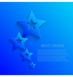 Star background design eps10 vector