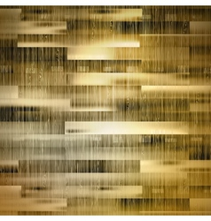 Golden wood background and light plus EPS10 vector image