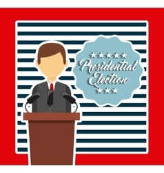 Government elections design vector