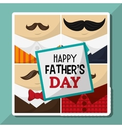 Icon of fathers day design vector