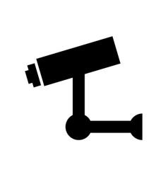Cctv security sistem icon vector