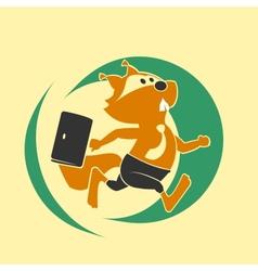 Squirrel run vector