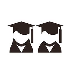 University avatar education icons vector