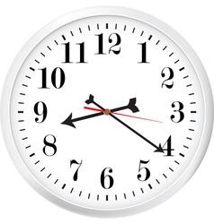 Modern clock vector