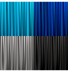 Set curtain vector