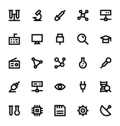 Science and technology icons 1 vector