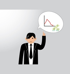 Business people thinking vector image