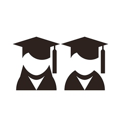 University avatar Education icons vector image vector image