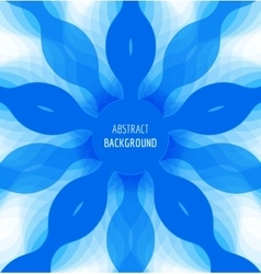 Abstract blue circle background with banner vector
