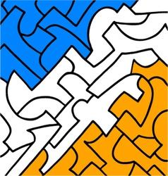 background art vector image vector image