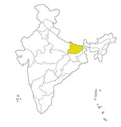 Bihar vector image vector image
