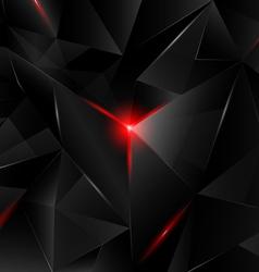 Black crystal vector image vector image