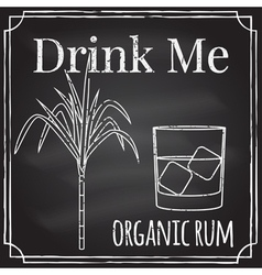 Drink me elements on the theme of the restaurant b vector