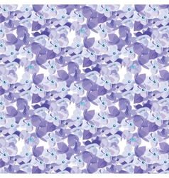 Spring Summer Lilac floral pattern vector image vector image