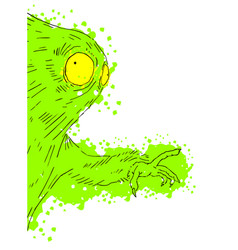 art character vector image vector image