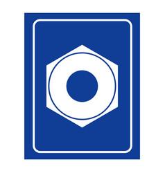 female screw ladies room icon logo for wc women vector image
