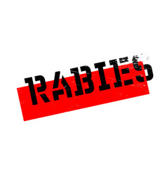 rabies rubber stamp vector image vector image