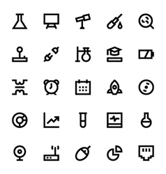 Science and technology icons 2 vector