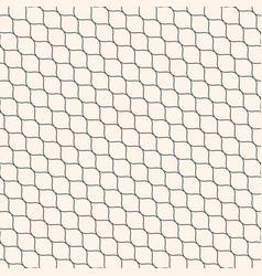 seamless pattern thin diagonal wavy lines mesh vector image vector image