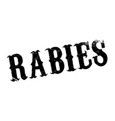 Rabies rubber stamp vector