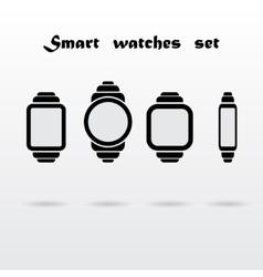 Smart watches set vector