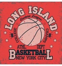 Basketball team emblem vector