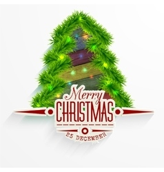 Christmas Messages and objects on wrinkled vector image vector image