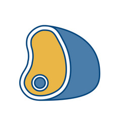 Ham icon image vector