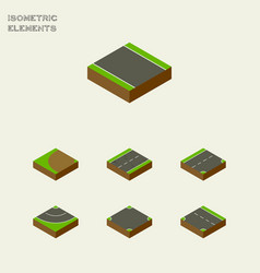 Isometric road set of cracks without strip vector