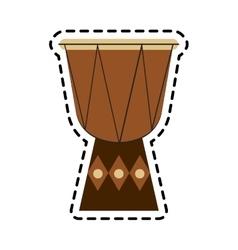 music instrument design vector image vector image