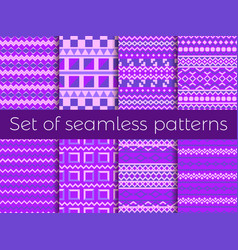 Seamless pattern in ethnic style tribal seamless vector