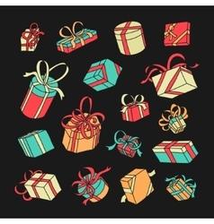 Symbol gift set vector