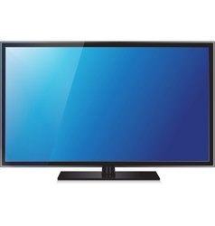Tv flat screen lcd plasma realistic vector