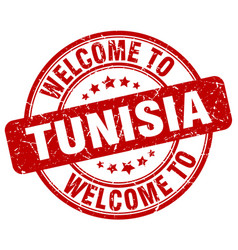 Welcome to tunisia vector