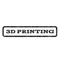3d printing watermark stamp vector